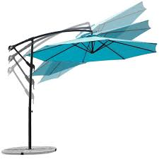 11 Cantilever Patio Umbrella With Base by Amazon Com Abba Patio 10 Feet Offset Cantilever Umbrella Outdoor