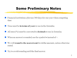 learning objectives for sections simple u0026 compound interest ppt