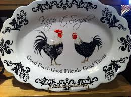 cracker barrel rooster decor country rooster kitchen decor kitchen