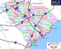 county map of sc south carolina map by county afputra com
