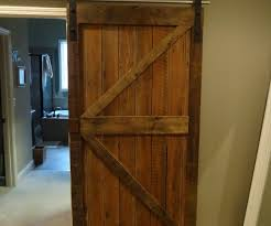 Sliding Wooden Closet Doors Gorgeous Ft Ft Carbon Steel European Wood Sliding Barn Door Get