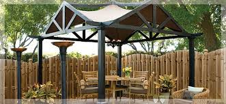Lowes Patio Gazebo Outdoor Living Backyard Luxury