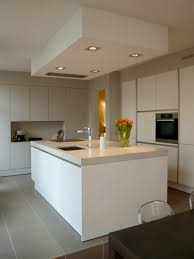 Kitchen With Grey Floor by White Handleless Kitchens True Handleless Kitchens Co Uk