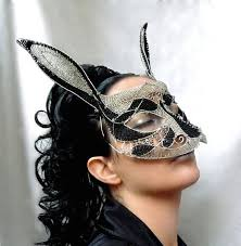 Rabbit Halloween Costume Rabbit Masquerade Mask Womens Halloween Costume Accessories
