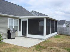 screen patio with brick knee wall com screen porches