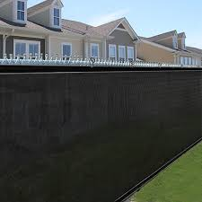 innovative decoration chain link privacy screen exquisite fence