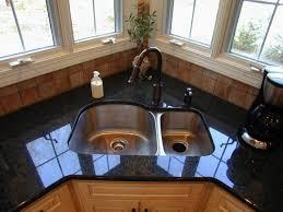 Amusing Corner Undermount Kitchen Sinks Corner Kitchen Sink Design - Corner undermount kitchen sink