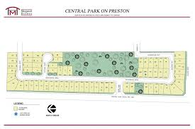 Oak Park Mall Map Central Park On Preston New Homes In Dallas Fort Worth Tx