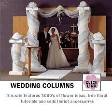 wedding backdrop ideas with columns wedding backdrops and columns