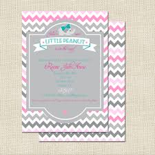 baby elephant baby shower invitations theruntime com