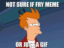 Gifs And Memes - image 329989 futurama fry not sure if know your meme