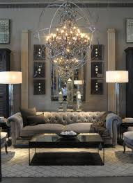 Chesterfield Sofa Living Room by Living Room Crystal Chandelier Stain Globe Surround Lights Grey