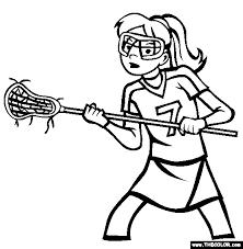 sports coloring pages page 1