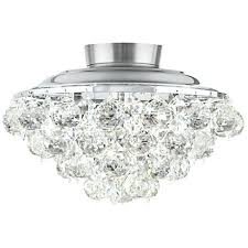 White Ceiling Fan With Chandelier Light Ceiling Fan Ceiling Fan With Crystal Chandelier Light Kit