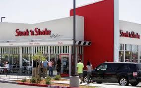 diners pack riverside steak n shake for opening press enterprise