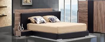 chambre a coucher moderne en bois moderne decoration complete contemporaine voir mobilier interieure