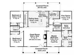 colonial home plans home plan homepw76711 1951 square foot 3 bedroom 2 bathroom