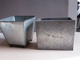 galvanized tubs as planters best galvanized planters ideas