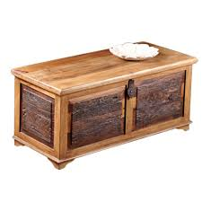 Rustic Chest Coffee Table Loon Peak Bentonite Rustic Blanket Box Trunk Coffee Table
