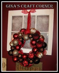 s craft corner how to make a wreath with a