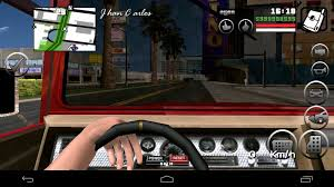 gta san andreas free android gta san andreas person driving for android beta mod