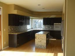 kitchen wall colors with black cabinets modern painting kitchen cabinets black eco paint inc