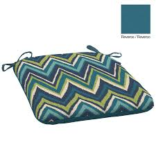 Patio Furniture Cushions Lowes - shop garden treasures universal seat pad at lowes com