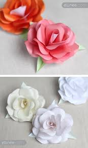 tissue paper flowers printable instructions diy paper roses full step by step tutorial plus free rose