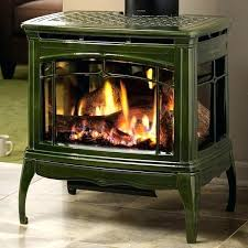 Free Standing Gas Fireplace by Heat Glo Tiara Ii Freestanding Gas Fireplace Free Standing Gas