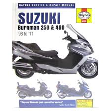 haynes manual 4909 suzuki 250 u0026amp 400 scooters 98 11