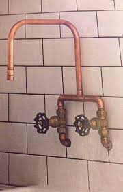 Exposed Outdoor Shower Fixtures - shower stunning exposed pipe tub and shower set exposed copper