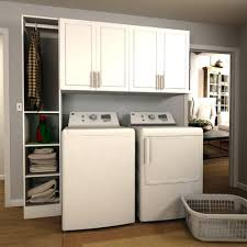 Laundry Room Cabinets With Hanging Rod Laundry Cabinets Zivile Info