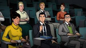 archer cartoon archer season 6 finale review fx reviews the escapist