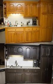 diy kitchen cabinet painting ideas nuvo coconut espresso nuvo cabinet paint diy kitchen makeover