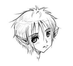anime elf boy sketch by aiyokochan on deviantart