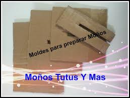 molde de carton para hacer moños bow making template moños