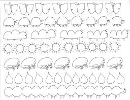 free kindergarten worksheets spot the patterns math pdf printable