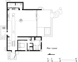 cabin floor plan gallery of chicken point cabin olson kundig 23
