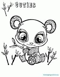 littlest pet shop cuties coloring pages colotring pages