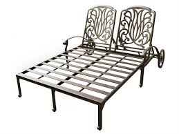 Darlee Santa Monica by Darlee Outdoor Living Standard Elisabeth Replacement Double Chaise