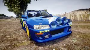 subaru wrc subaru impreza wrc 1998 v4 0 world rally for gta 4