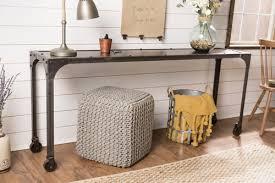 factory metal sofa table james james furniture springdale