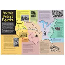 Manifest Destiny Map Amazon Com America U0027s Westward Expansion Map Prints Posters U0026 Prints