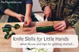 kitchen knives for children knife skills for this pilgrim
