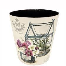 Small Waste Basket by Wastebasket Cool Shop Allen Roth Brinkley Chrome Metal