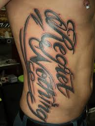 tattoo lettering customskinstattoo