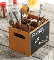 Silverware Caddy For Buffet by Amazon Com All In One Rustic Torched Wood Tabletop Picnic Buffet