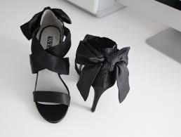 vera wang wedding shoes classic black sandal 100 viva fashion