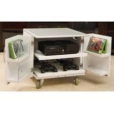 the video game console cart hammacher schlemmer