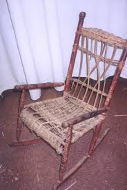 how to repair wicker rocking chair seat wicker patio furniture